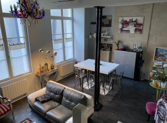 APARTMENT T3 Type LOFT in RDC DISTRICT HALLES – CELLAR