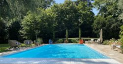 TOURS SOUTH CONTEMPORARY HOUSE OF ARCHITECT PARK 8.000m² TERRACE GARAGE SWIMMING POOL