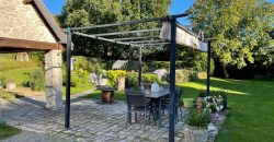 NORTH of TOURS LONGERE of CHARM plot of land 2.500m² heated swimming pool